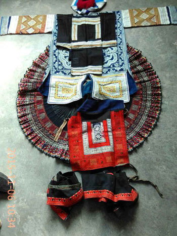 Gejia Women's Costume from Chong'an, Guizhou