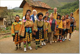 Our Clients with Miao Women